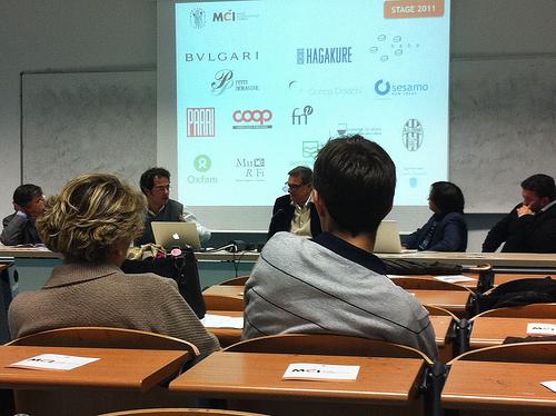 Presentazione VI edizione Master in Comunicazione d'Impresa Università di Siena