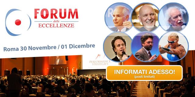 Forum Eccellenze 2013