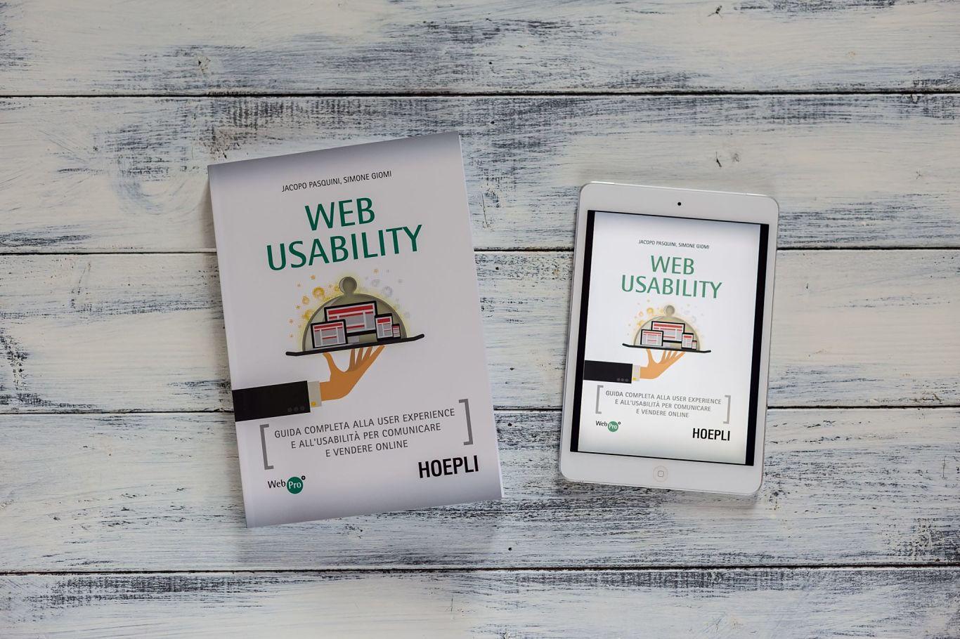 libro hoepli web usability jacopo pasquini simone giomi