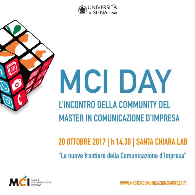 MCI DAY 2017. L'incontro della community del master in comunicazione d'impresa